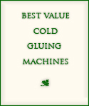 cold gluing machines