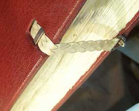 solid silver book clasps